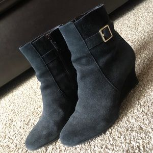 Cole Haan suede ankle boots